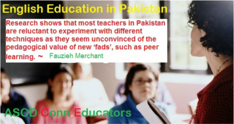 English education in Pakistan