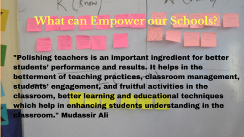 What can empower our schools?